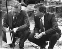 Lee Atwater spins Bob Schieffer